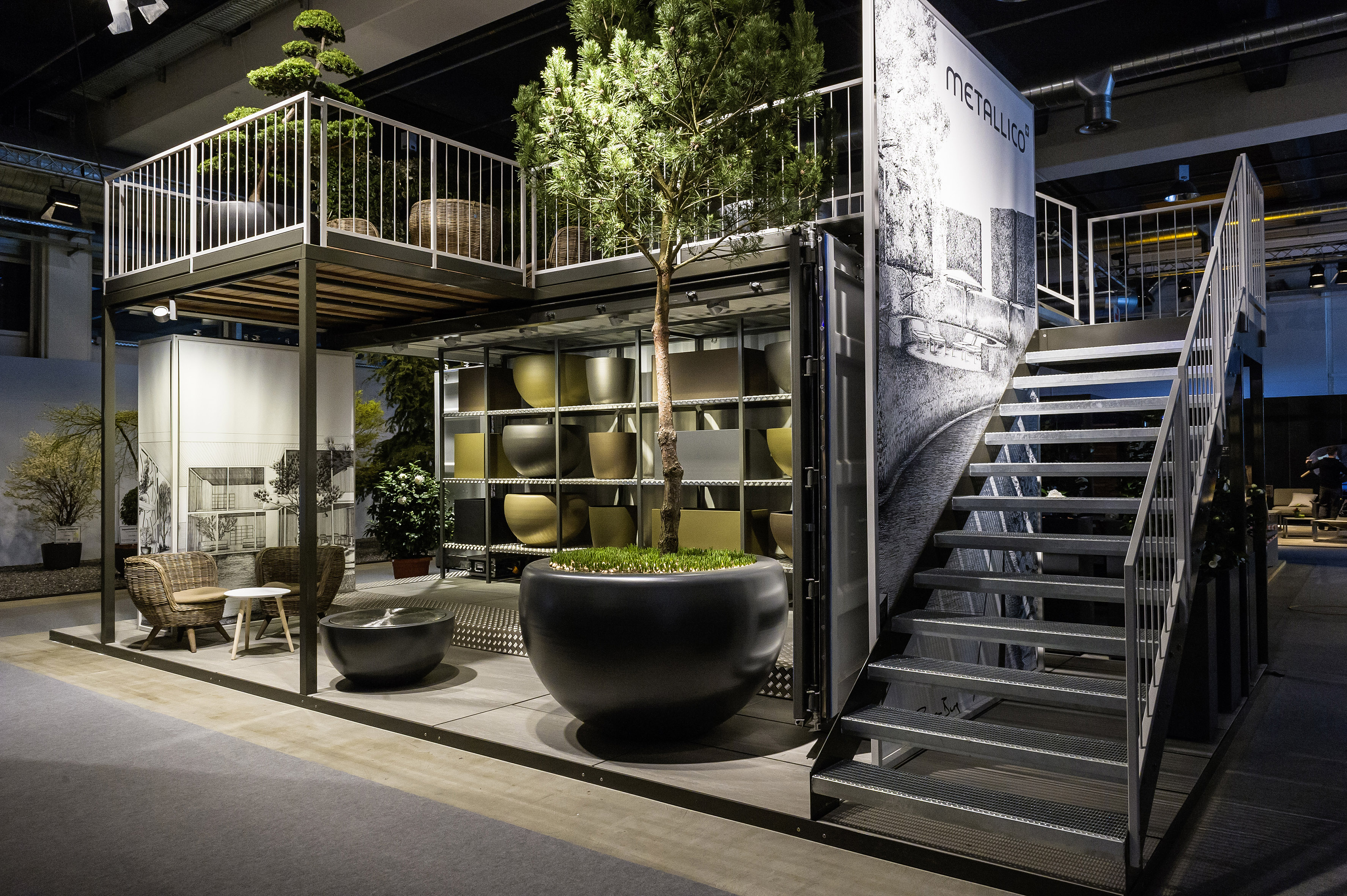 Giardina 2016 | GiardinaAWARD | Award Verleihung | GiardinaSTYLE | Staende bis 40 m2 | Metallico by BECK | GiardinaAWARD Gewinner | Kategorie Gold